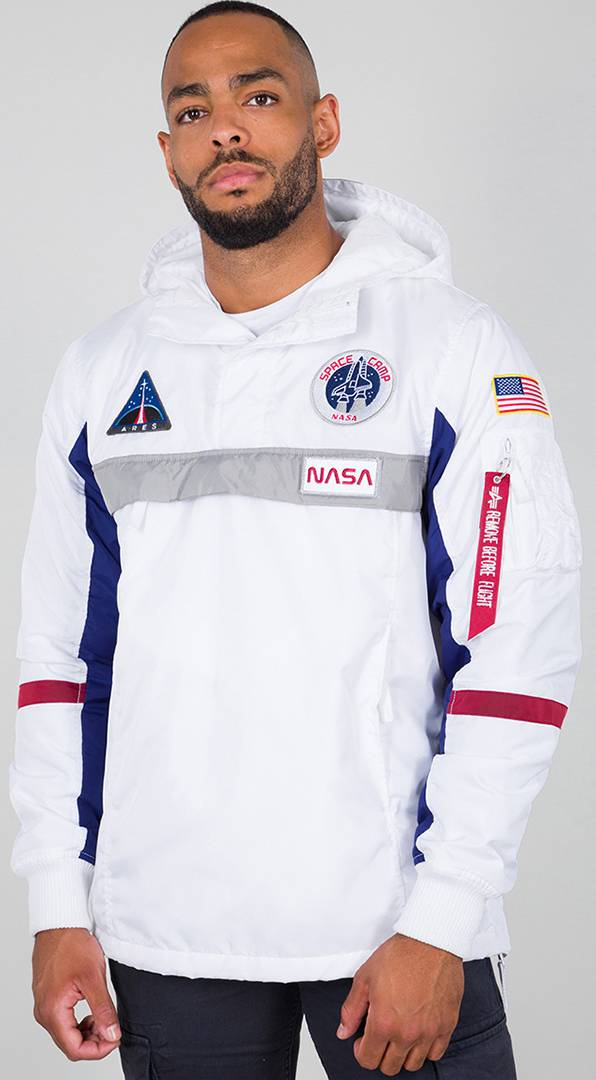 Alpha Industries Space Camp Jacket White 3XL