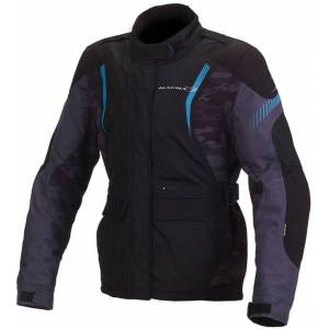 Macna Beryl Ladies Textile Jacket Black Blue M
