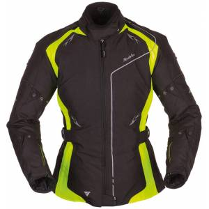 Modeka Scarlett Ladies Textile Jacket Black Yellow 36