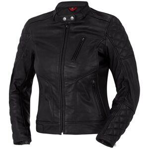 Bogotto Chicago Ladies Motorcycle Leather Jacket Black 38