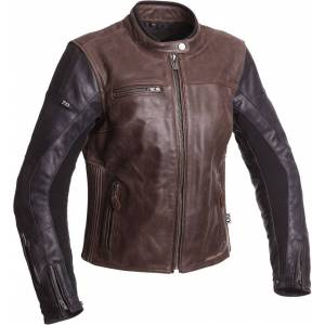 Segura Lady Nova Ladies Motorcycle Jacket Black Brown 46