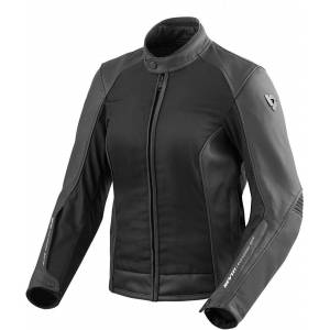 Revit Ignition 3 Ladies Leather/Textile Jacket Black 44