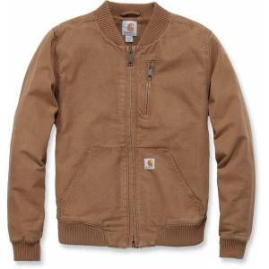 Carhartt Crawford Women's Bomber Jacket Brown S