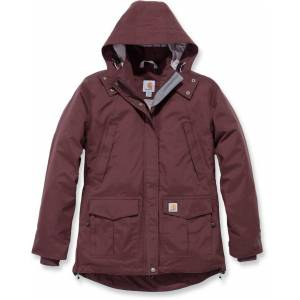 Carhartt Shoreline Ladies Jacket Red XS