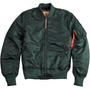 Alpha Industries MA-1 VF 59 Ladies Jacket Green Blue XS
