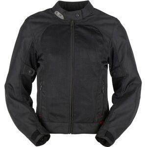 Furygan Genisis Mistral Evo 2 Ladies Motorcycle Textile Jacket Black 2XL