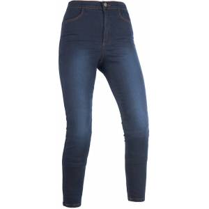 Oxford Super Indigo Long Ladies Motorcycle Jeggings  - Size: Medium