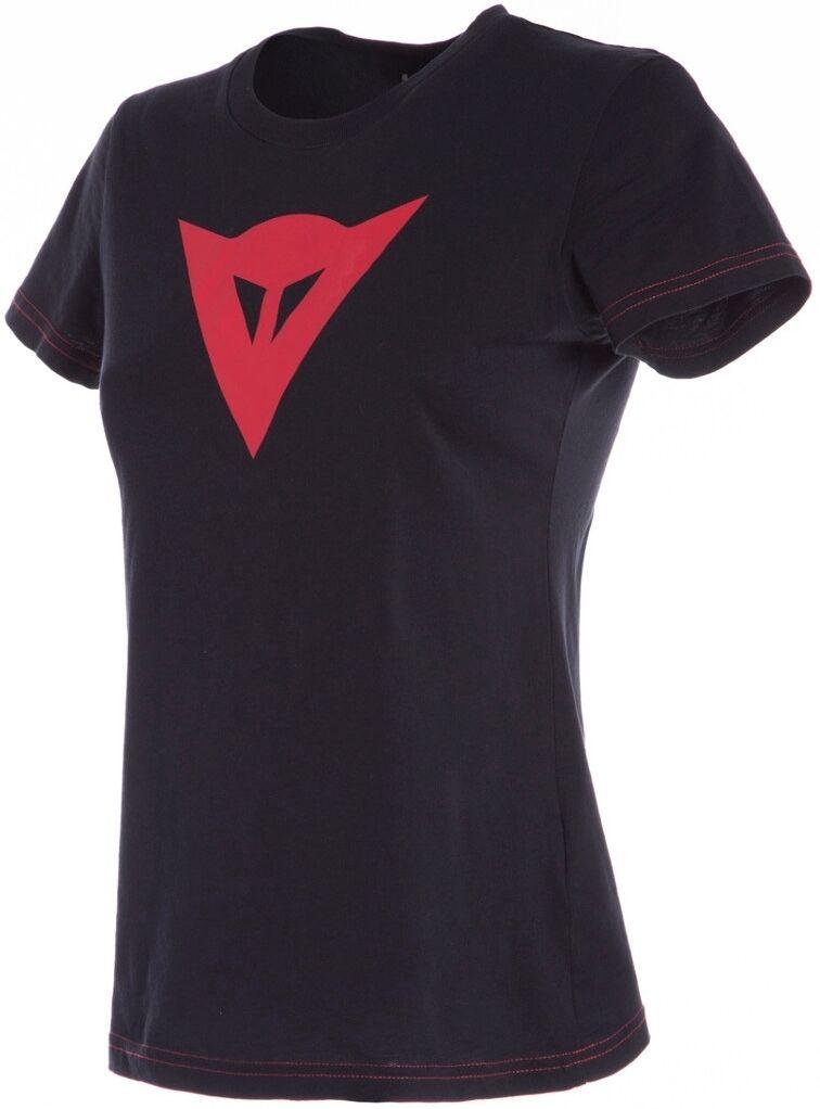 Dainese Speed Demon Ladies T-Shirt Black Red XS