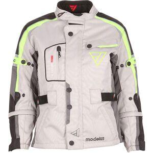 Modeka El Chango Kids Textile Jacket Grey 3XL 58 60