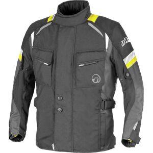 Büse Breno Kids Kids Motorcycle Textile Jacket Black Grey Yellow 2XS 128