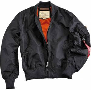 Alpha Industries MA-1 TT Kids Jacket Black L XL