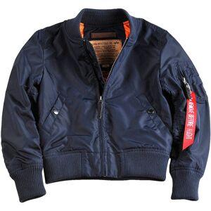 Alpha Industries MA-1 TT Kids Jacket Blue 146 150 152