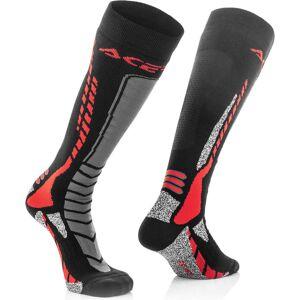 Acerbis MX Pro Socks Black Red 2XL