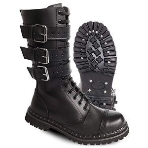 Brandit 3 Buckle Boots Black 43