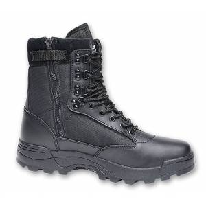 Brandit Zipper Tactical Boots Black 45