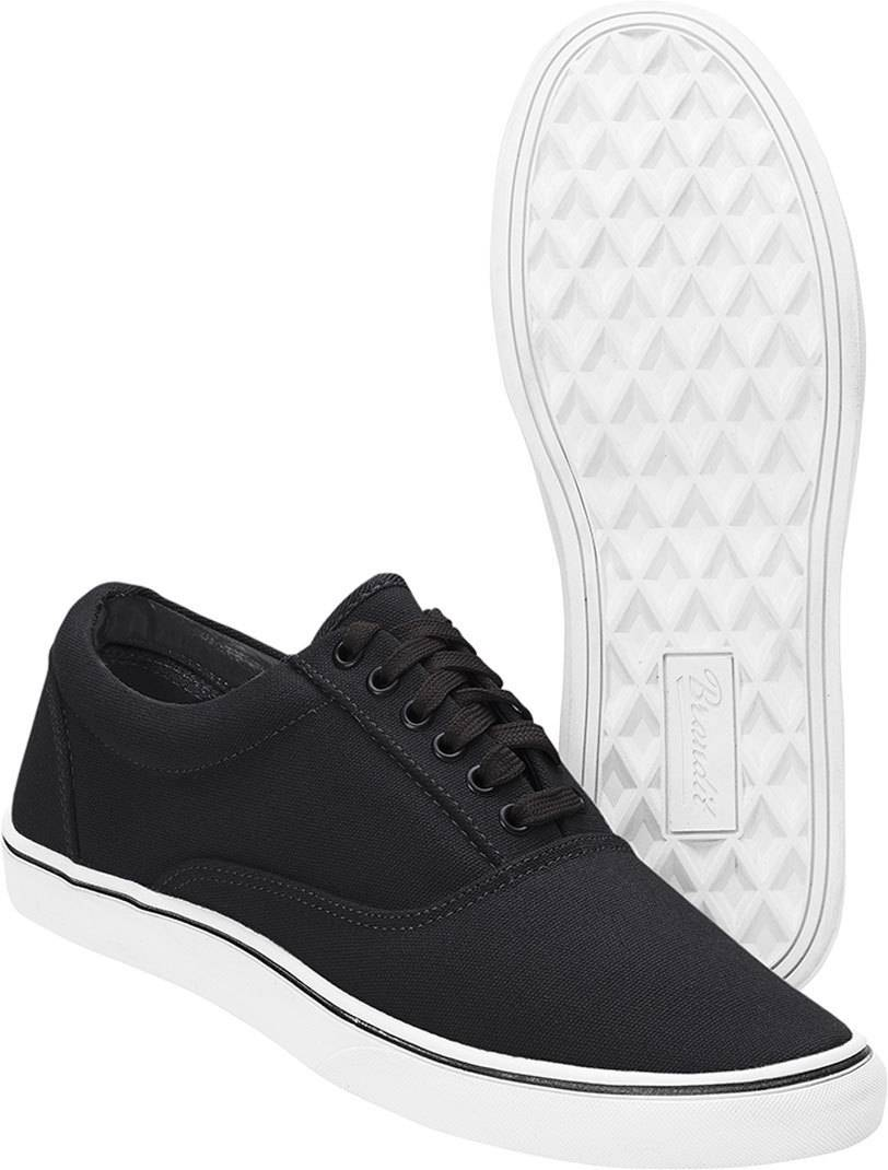 Brandit Bayside Shoes Black White 47