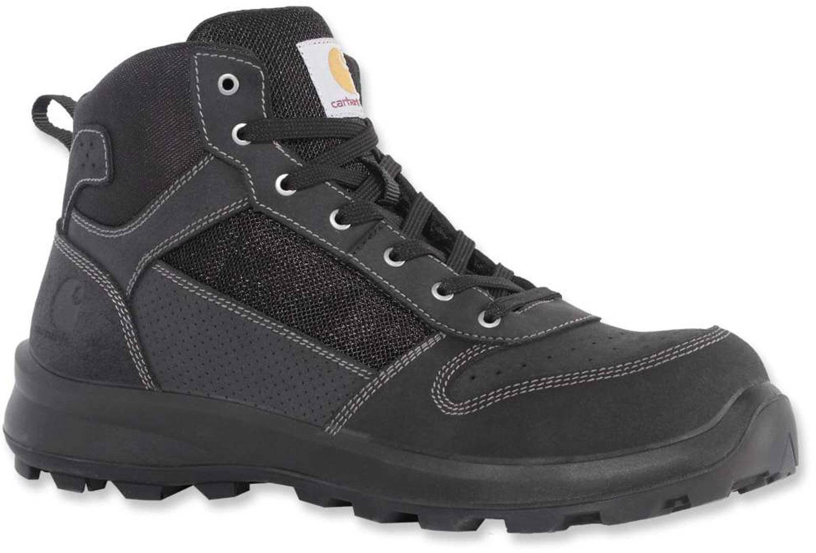 Carhartt Mid S1P Safety Boots Black 44