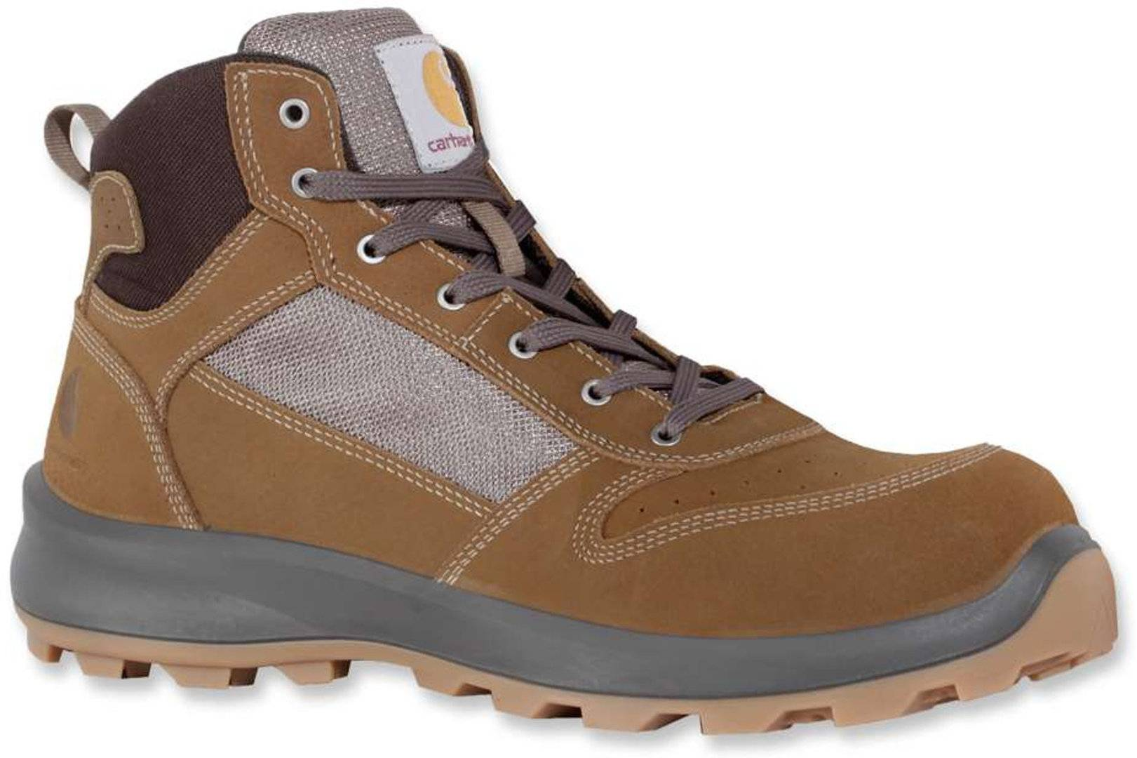 Carhartt Mid S1P Safety Boots Brown 40