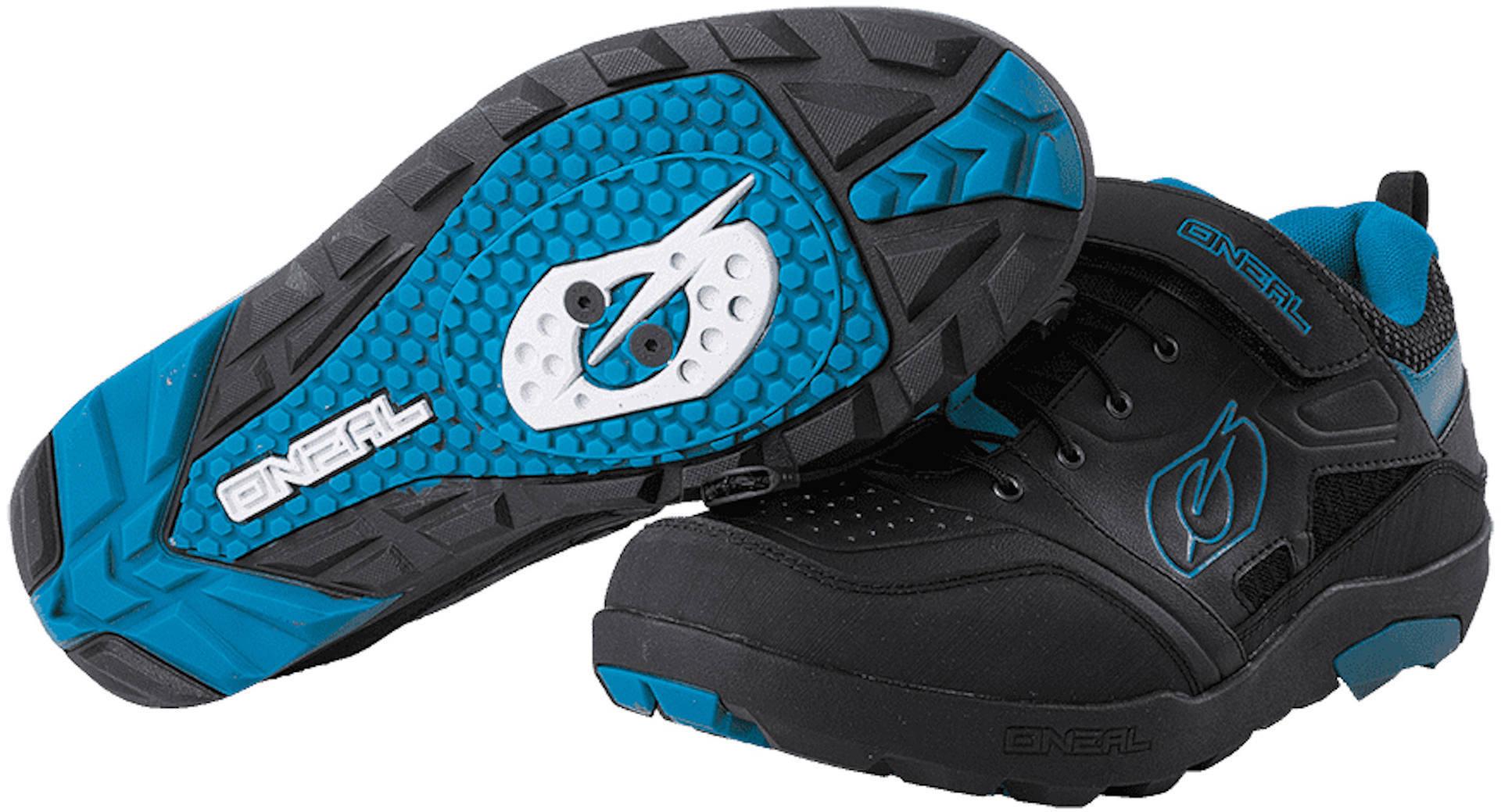 Oneal Traverse SPD Shoes Black Blue 40