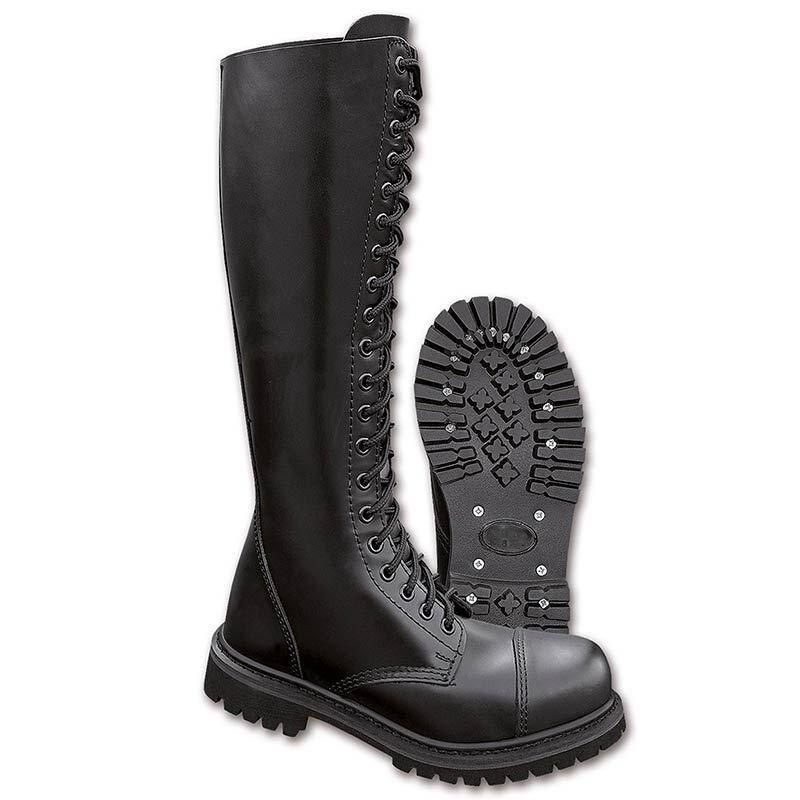 Brandit 20 Eyelet Boots Black 47