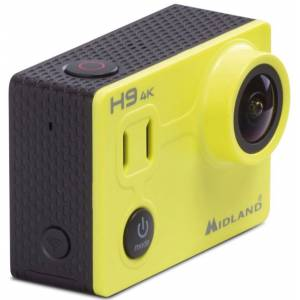 MIDLAND H9 4K Ultra HD Action Camera Yellow One Size