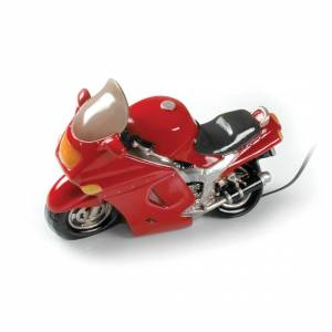 Booster Table Lamp Motorcycle Red