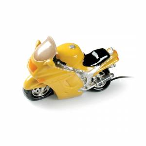Booster Table Lamp Motorcycle Yellow