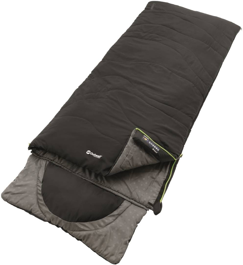 Outwell Contour Sleeping Bag Black One Size