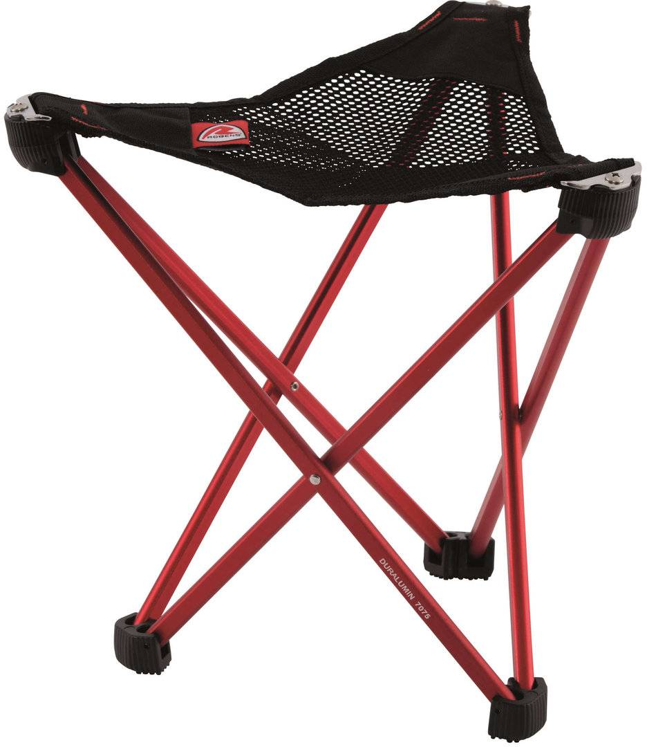 Robens Geographic Folding Stool Red One Size