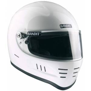 Bandit SA Snell Motorcycle Helmet White M
