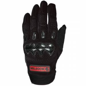 Booster X-Style Motorcycle Gloves Black S