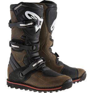 Alpinestars Tech-T Motorcycle Boots Brown 47