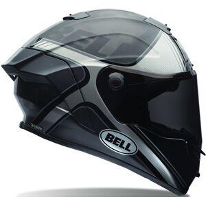 Bell Pro Star Tracer Motorcycle Helmet Black Silver XS