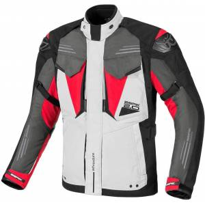 Berik Antaris Waterproof Motorcycle Textile Jacket Black Grey Red 48