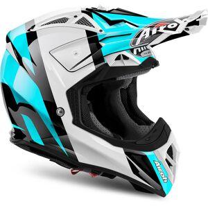 Airoh Aviator 2.2 Revolve Motocross Helmet Blue XL