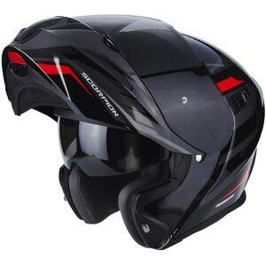 Scorpion Exo 920 Shuttle Helmet Black Red Silver M