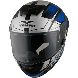 Vemar Hurricane Claw Helmet Black White Blue XL