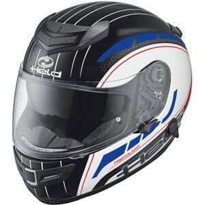 Held Brave II Motorcycle Helmet Decor White Red Blue L