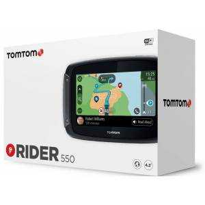 TomTom Rider 550 World Route Guidance System Black One Size