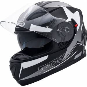 Rocc 411 Helmet Black Silver M