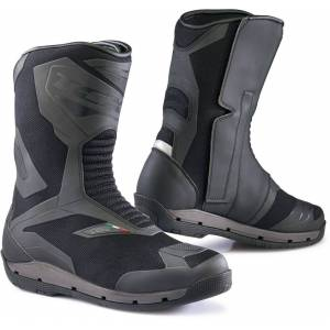 TCX Clima Surround Gore-Tex Motorcycle Boots Black Grey 39