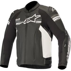 Alpinestars GP-R v2 Tech-Air Motorcycle Leather Jacket Black Grey 60