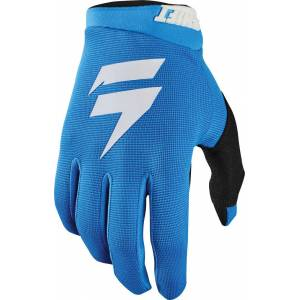 Shift Whit3 Label Air Motocross Gloves White Blue L