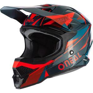 Oneal 3Series Triz Motocross Helmet Red Green 2XL