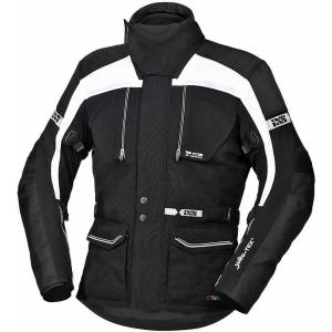 IXS Tour Traveller-ST Motorcycle Textile Jacket Black White L
