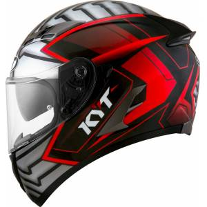 KYT Falcon 2 Armor Helmet Grey Silver 2XL