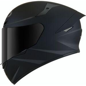 KYT TT Course Plain Helmet Black 2XL