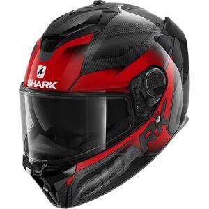 Shark Spartan GT Carbon Shestter Helmet Black Red M