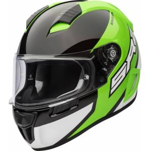 Schuberth SR2 Wildcard DOT Helmet Black Green S
