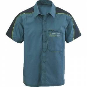 Scott Factory Team S Shirt Button  - Size: 2X-Large